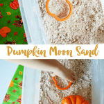 How to Make Pumpkin Moon Sand