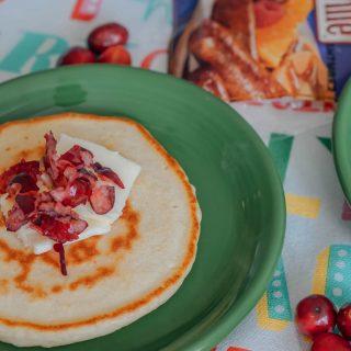 Quick Cranberry Pancakes