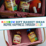 Rainbow Gift Basket Ideas