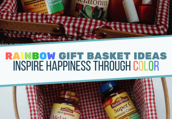 Rainbow Gift Basket Ideas