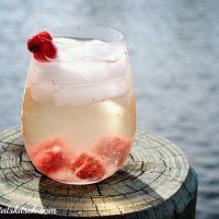 Raspberry Chardonnay Cocktail