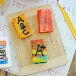 Back to School Treats | ABC Rice Cereal Book Treats