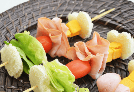 Easy Lunch Idea For Kids: Sandwich Kabobs