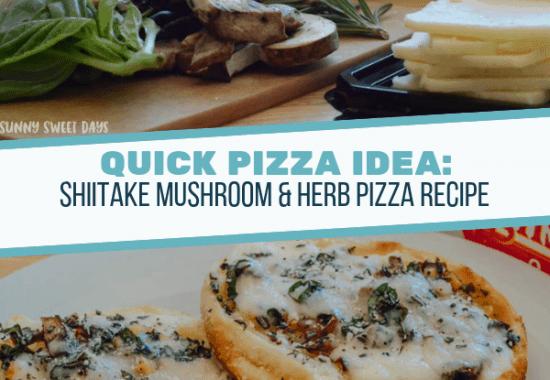 Mushroom & Herb Pizza Recipe