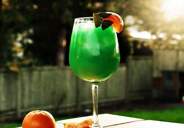 Emerald Sunrise {Cocktail}