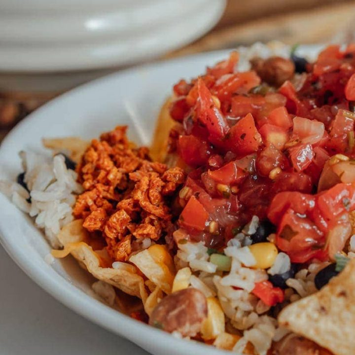 Meatless Monday Sausage Nachos Recipe