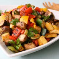 Pan Roasted Florida Vegetables Recipe