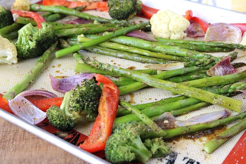 Whole 30 Roasted Vegetables