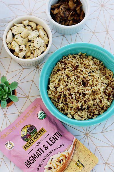 Quick Chicken & Rice Bowl: Weeknight Dinner Ideas