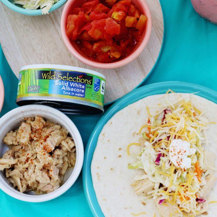 How to Set Up a Tuna Taco Bar