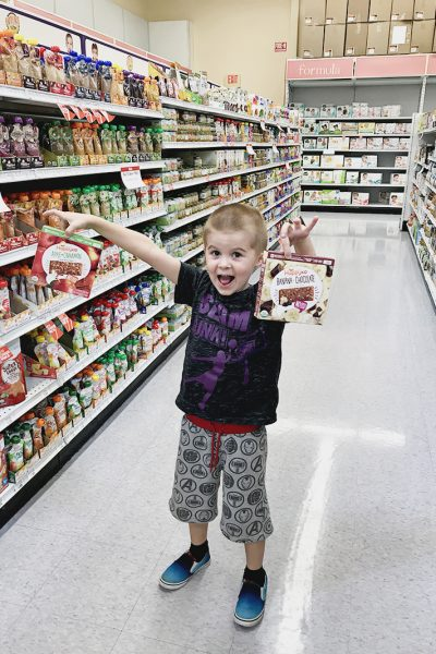 Save time and stock up on snacks on Amazon: Try Happy Kids Fruit and Oats Bars!