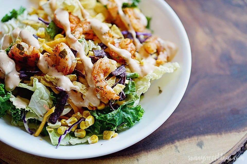 Southwestern Shrimp Salad