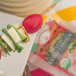 Easy Spinach Caprese Skewers
