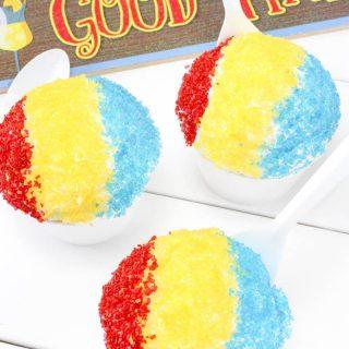 Sno-Cone Cupcakes Recipe