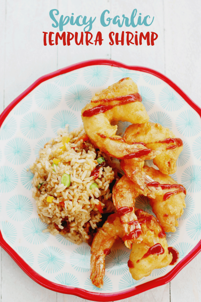 Spicy Garlic Tempura Shrimp Recipe