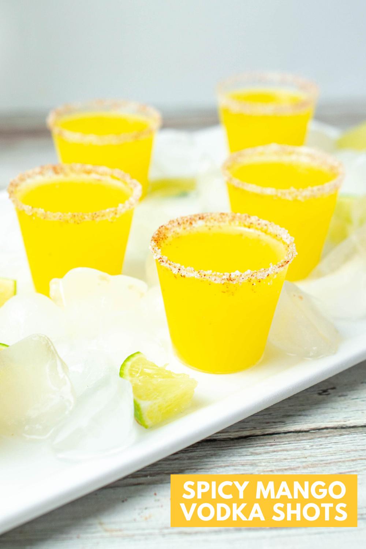Vodka Shots Recipe: Mango Shooters