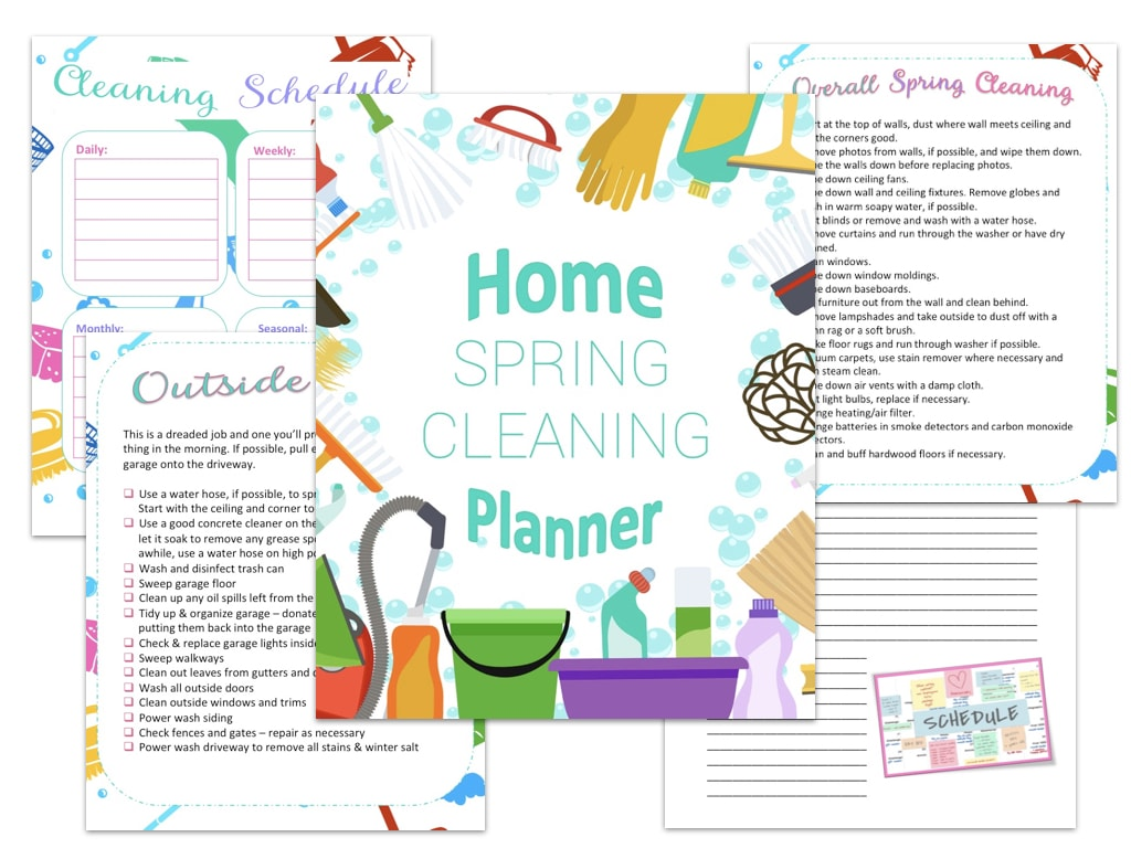 Spring Cleaning Planne