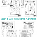 Star Wars Printables: SOLO: A STAR WARS STORY Coloring Pages #HanSolo