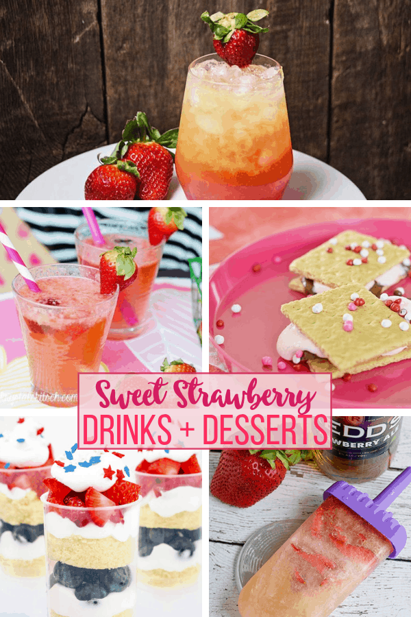 Strawberry Desserts and Drinks (1)