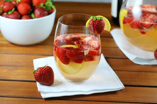 Fresh Strawberry Sangria