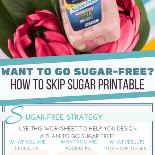 Sugar-Free Printable Tips