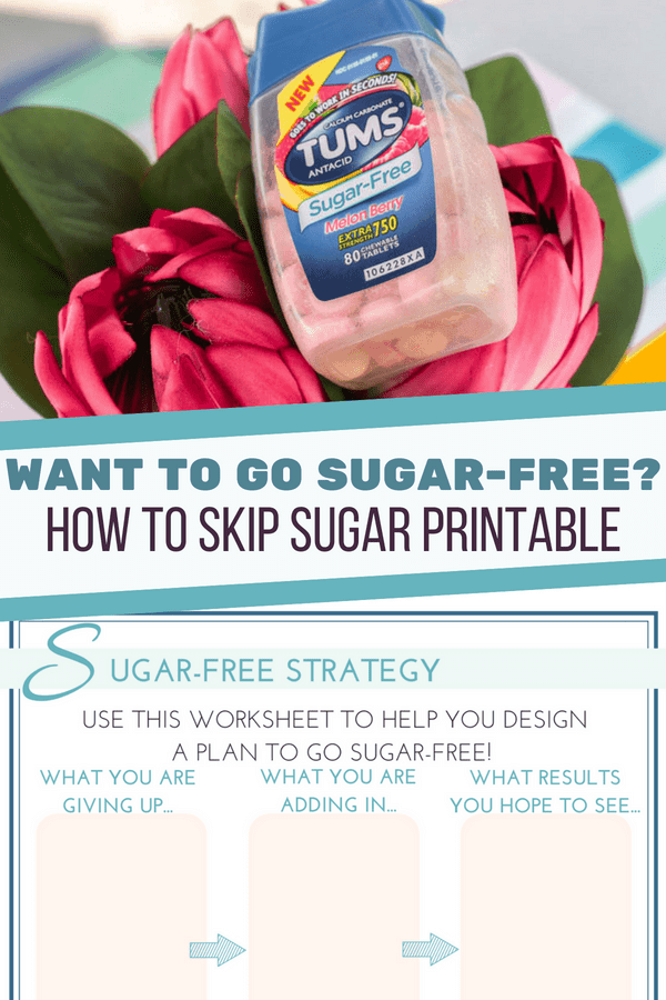 Sugar-Free Printable Tips