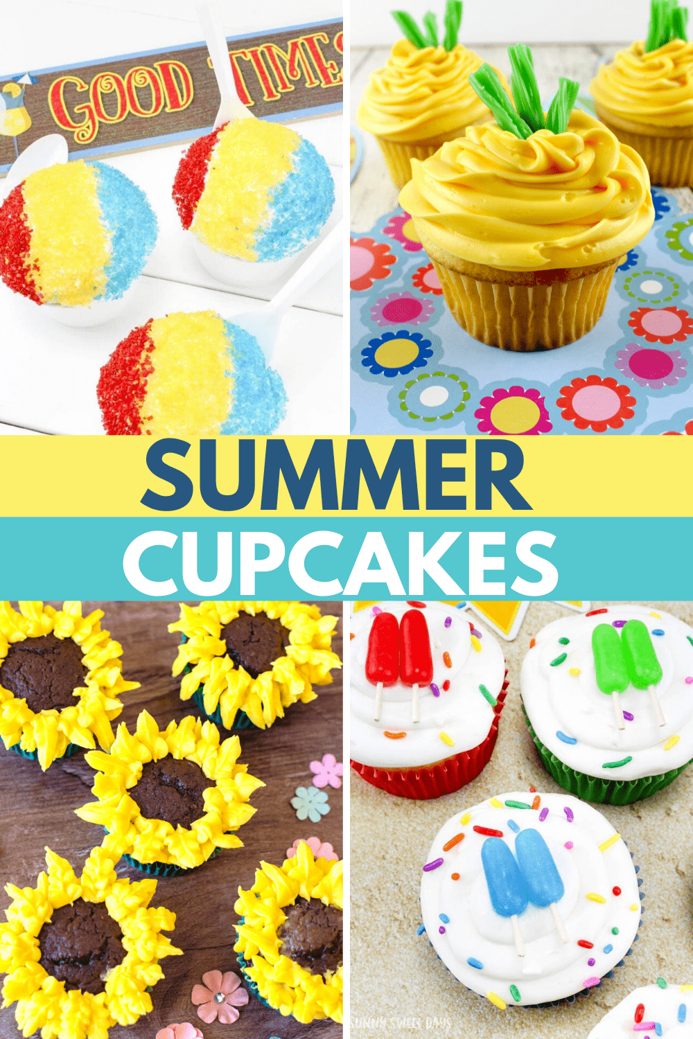 🧁 Summer Cupcakes: Cute Cupcake Ideas With Printable Toppers