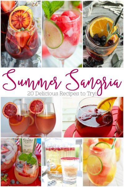 Summer Sangria Recipes: 20+ Recipes to Try