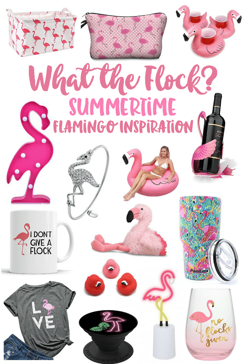 Summertime Flamingo Fashion