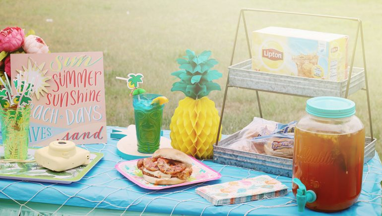 Hawaiian Chicken Sandwiches | Summer Party