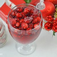 Frosted Cranberry Cocktail