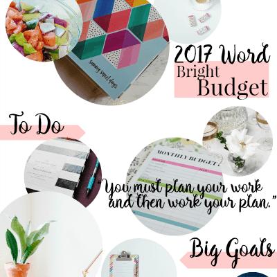 2017 Vision Board: Big Dreams + Goal Inspiration