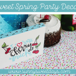 Sweet Spring Party: Infused Water Bar and DIY