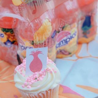 Trolls Hair Cupcakes | Trolls Printable Cupcake Toppers