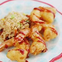 Spicy Garlic Tempura Shrimp