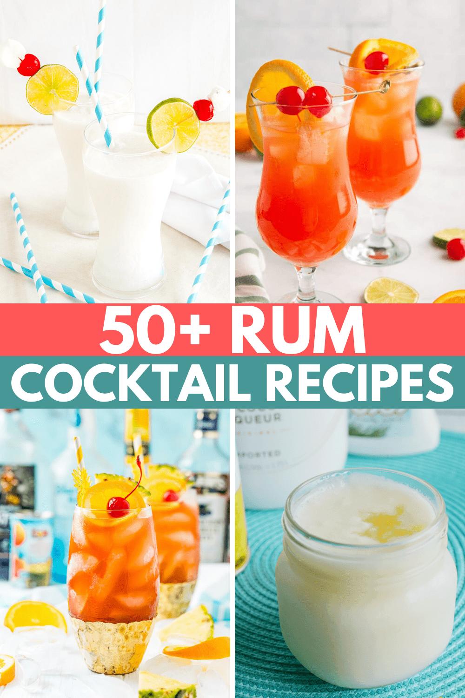 Cocktails With Rum Recipes: 50+ Rum Cocktails