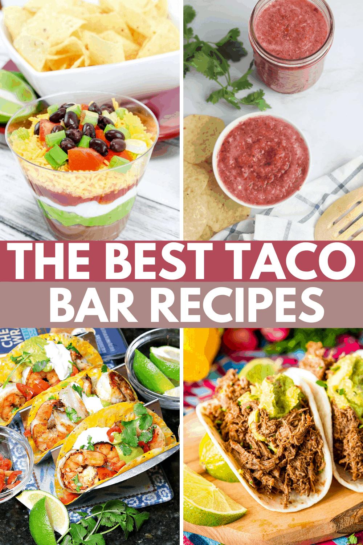 50 Taco Bar Party Ideas: Taco Recipes and Margaritas