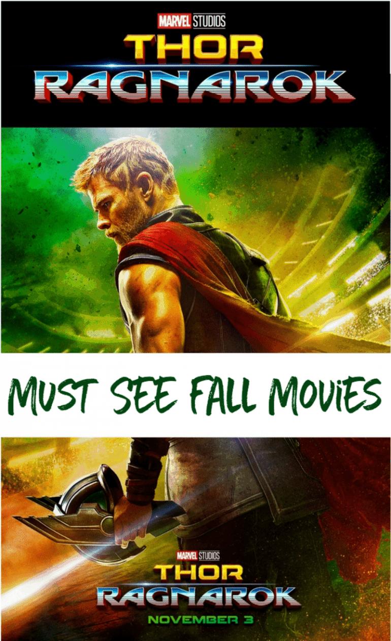 Must See Fall Movies | Thor Ragnarok