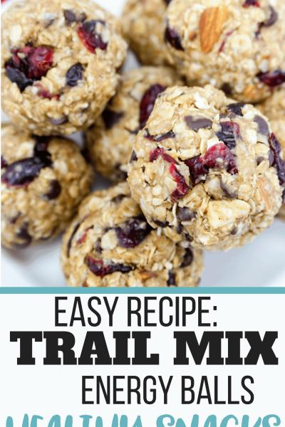 Trail Mix Energy Balls