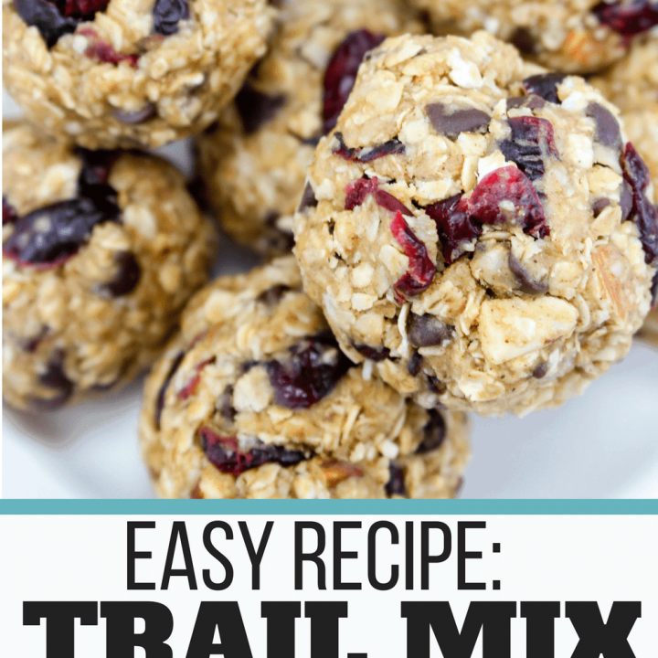 Trail Mix Energy Balls