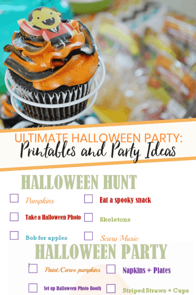 Ultimate Halloween Party Printables
