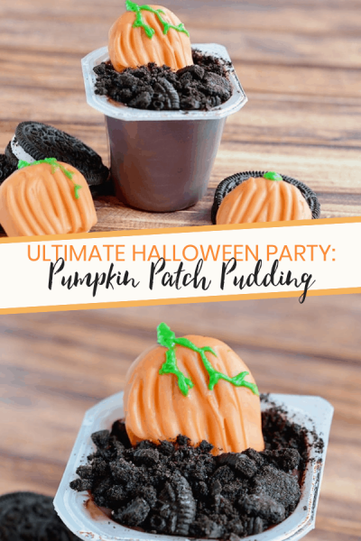 Ultimate Halloween Party Pumpkin Patch Pudding