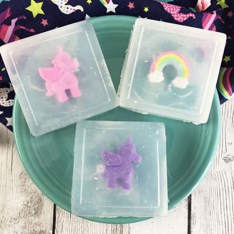 Unicorn Soap DIY