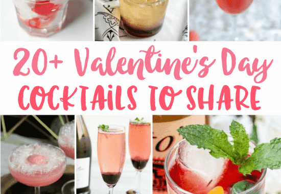 20+ Valentine's Day Cocktails to Share