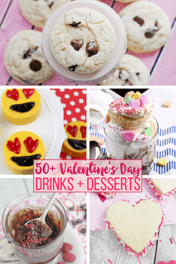 50 Valentine's Day Desserts and Drinks: Sweet Treats to Share