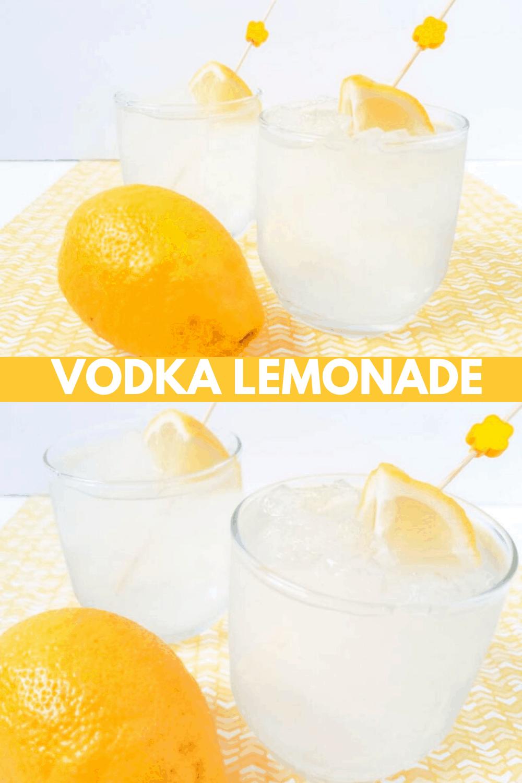 Vodka Lemonade Cocktail Recipe