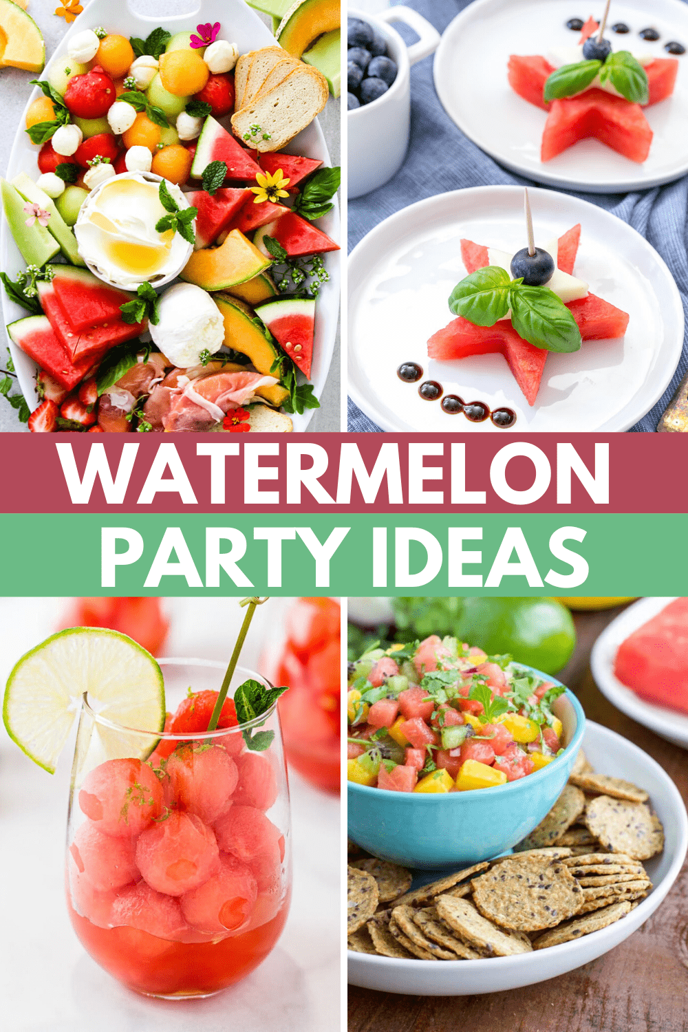 Watermelon Recipes and Party Ideas 🍉 🍉