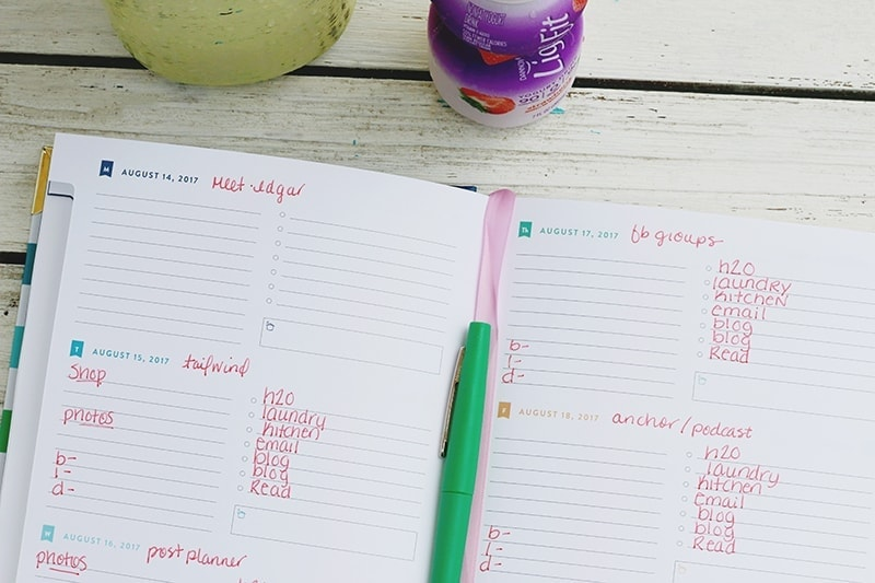 What to Track in Your Planner