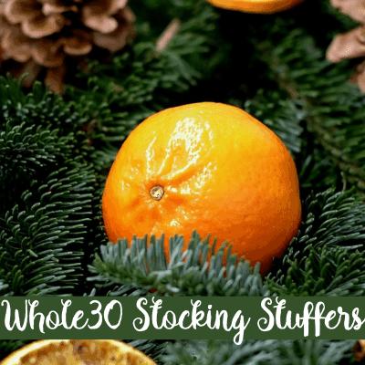 Whole30 Stocking Stuffers