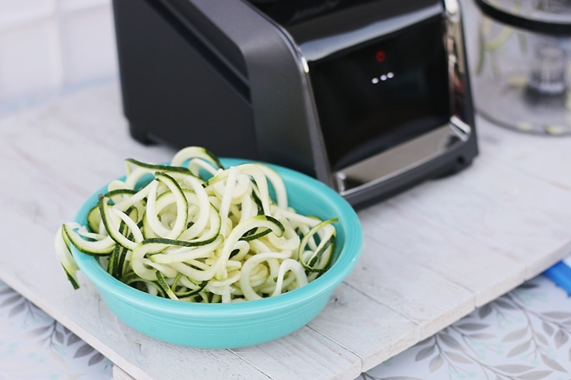 Homemade Zoodles